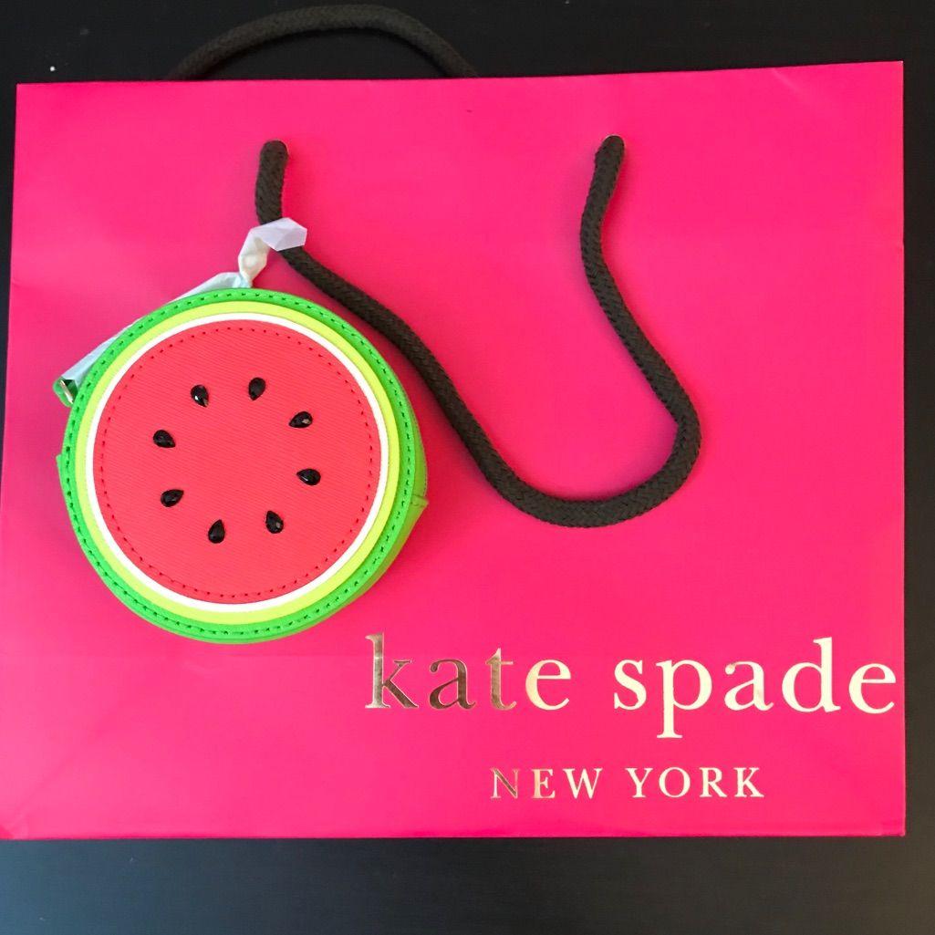 Kate Spade Watermelon Coin Purse Wristlet Wallet