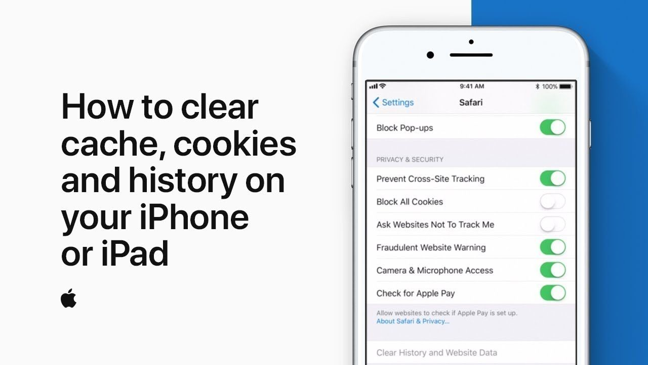 How to clear cache, cookies and history on your iPhone or