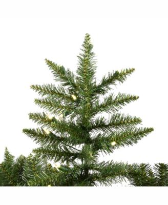 95\u0027 Camdon Fir Slim Artificial Christmas Tree with 1000 Warm White