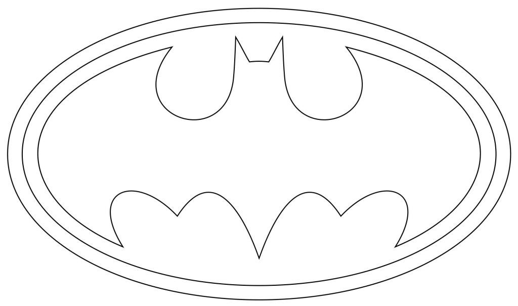 Batman Zeichen Ausmalbilder Templates Pinterest Coloring Pages