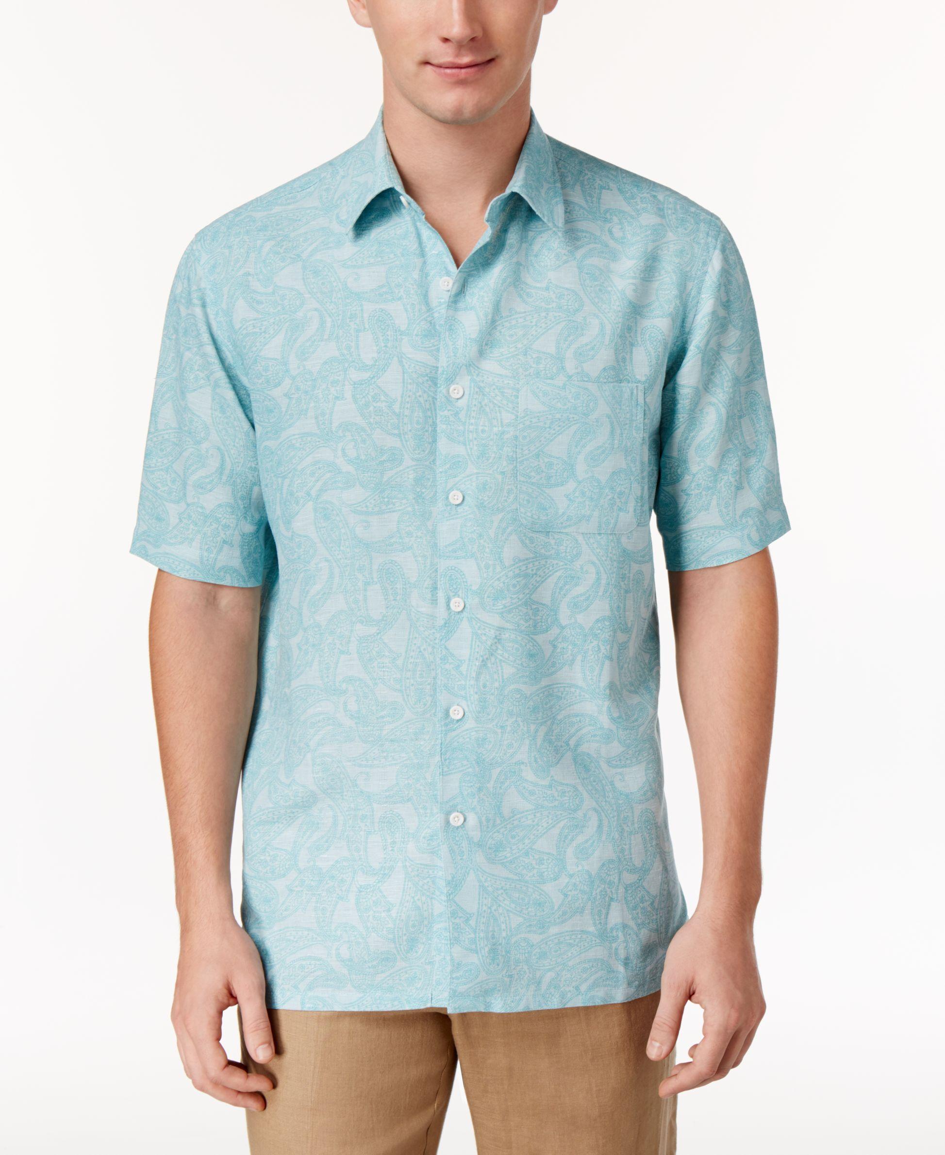 Tasso Elba Men's Print Shirt, Only at Macy's