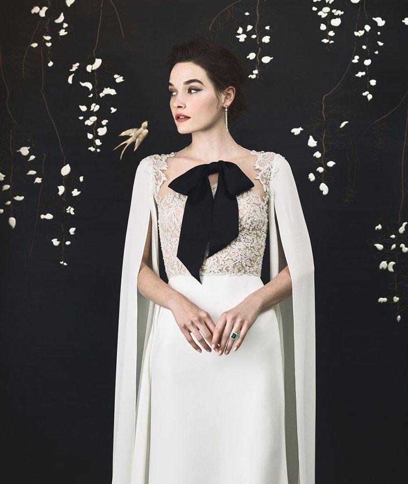 Coleção primavera/verão 2018 de vestidos de noiva  Reem Acra e Tiffany and Co.