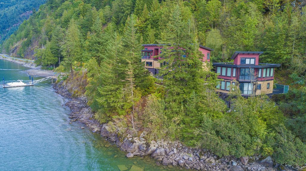 New the lodge on harrison lake secluded homeaway