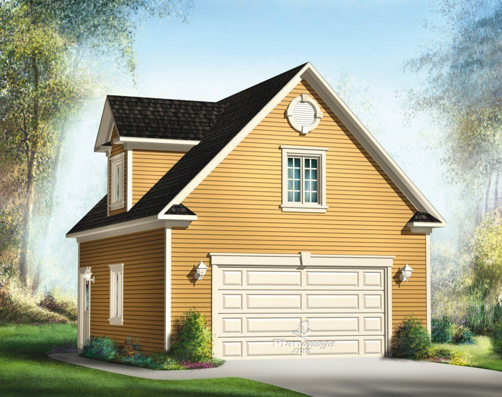 This twocar garage with loft will not only allow you to