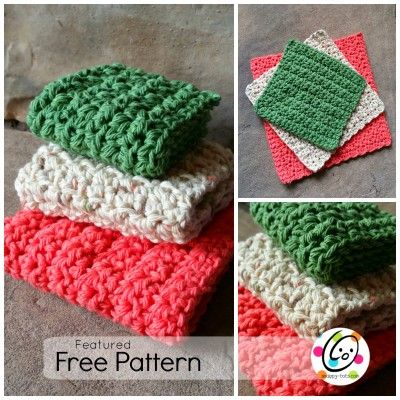 Featured Free Pattern: Just Right Dishcloths | Blusas