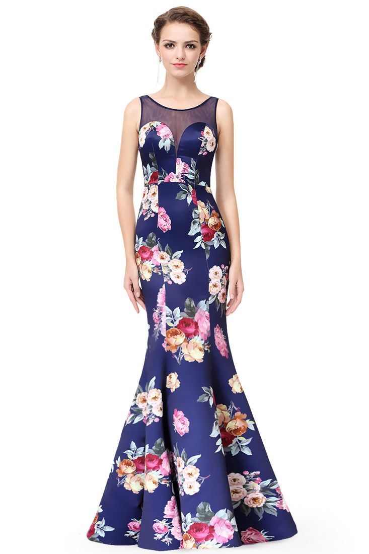Navy Floral Maxi Dress - Buy Womens Maxi Dresses Online -1644