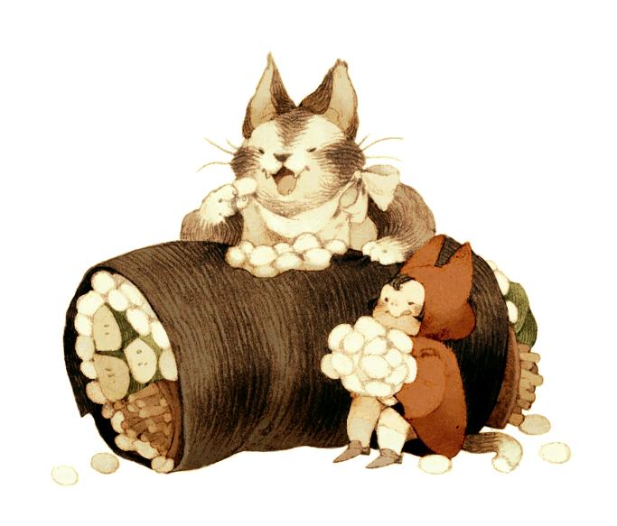 Daily Sushi Photo Anime art, Animal design