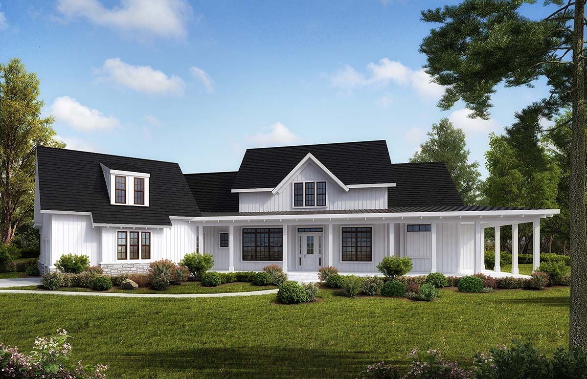 Southern Style House Plan 97649 With 4 Bed 5 Bath 3 Car Garage