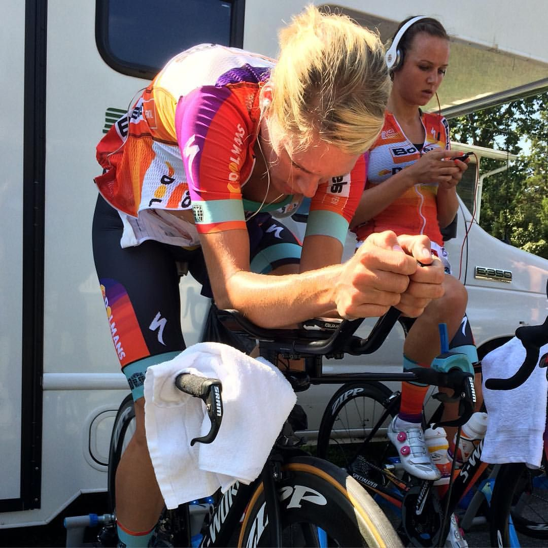 In the zone @emvandijk knows how to win #WorldChampionships #TTT #Richmond2015 @sramroad @zippspeed #quarq  @boelsdolmansct