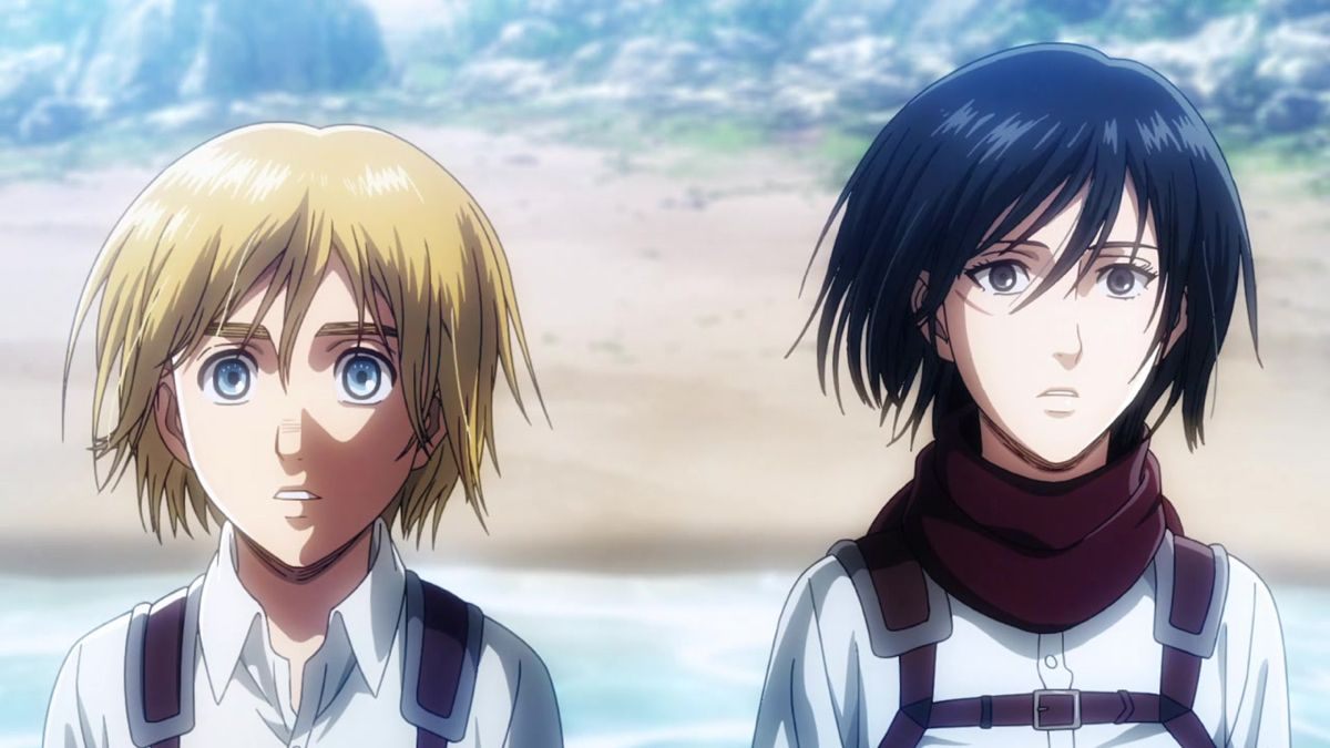 attack on titan is the best show ever it makes me sad and happy and ahhhhh