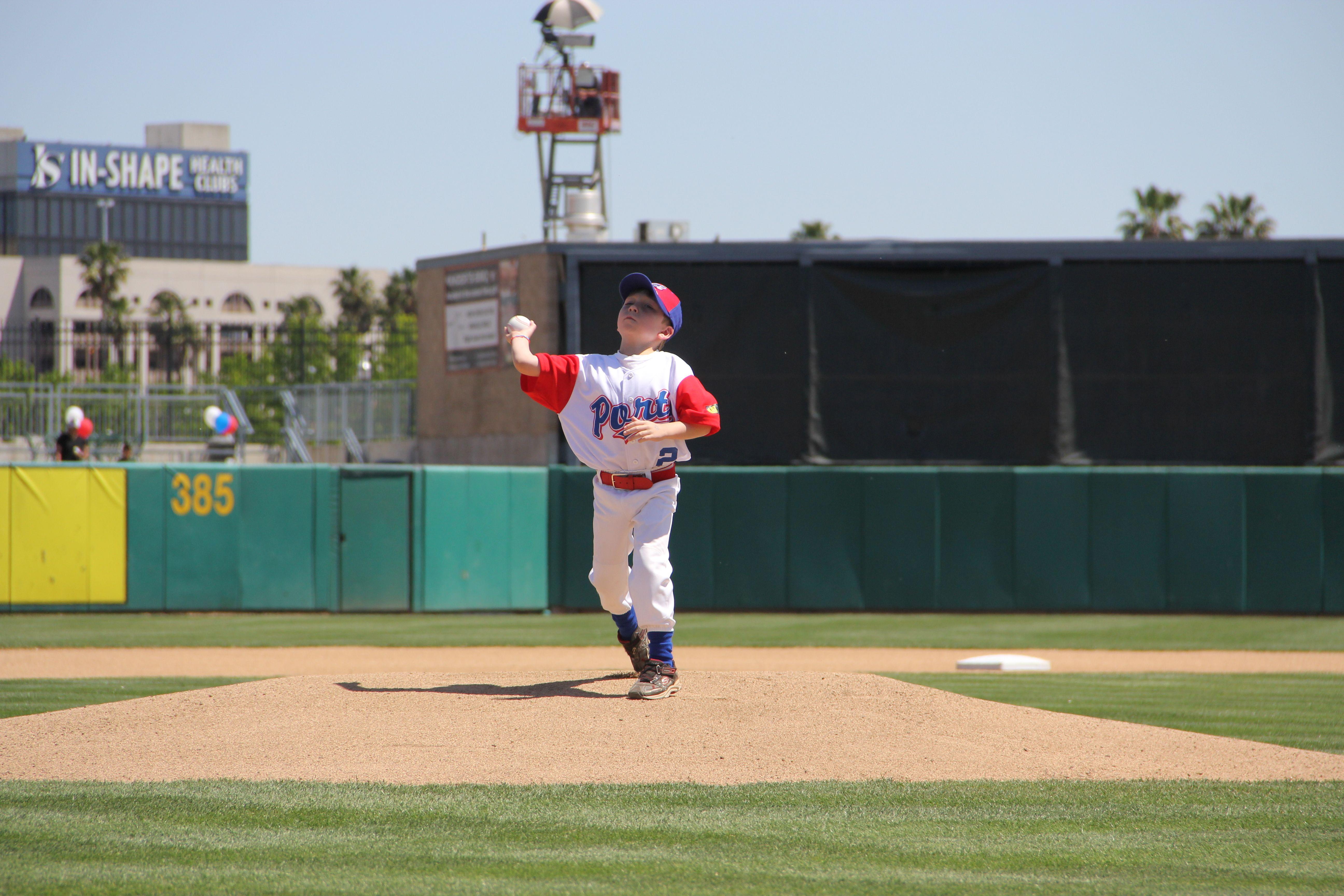 Future Stocktonports Pitcher Looks Like It Baseball Field Professional Baseball Baseball