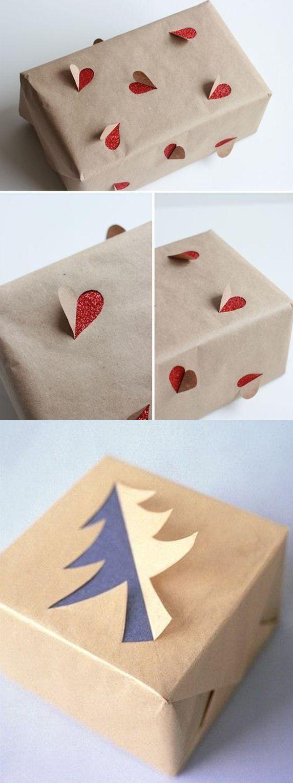C mo envolver regalos de navidad de forma original - Envolver libros de forma original ...