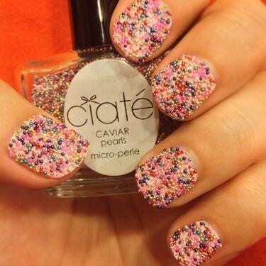 Caviar Manicure!
