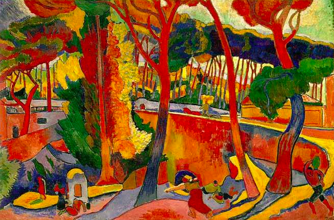 Andre Derain - French artist and co-founder with Henri Matisse of Fauvism