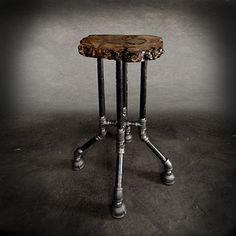 id es r cup 39 de tuyaux tuyau tabouret et industriel. Black Bedroom Furniture Sets. Home Design Ideas