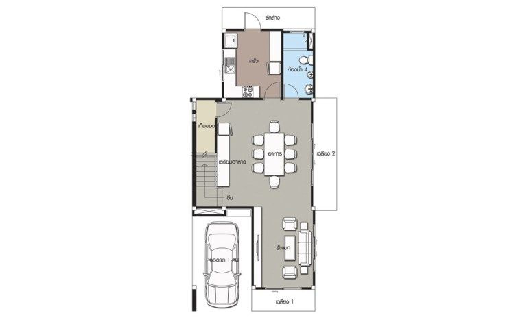 Home Design Plan 6x13m With 5 Bedrooms Home Design With Plan Duplex House Design Home Design Plan Home Building Design