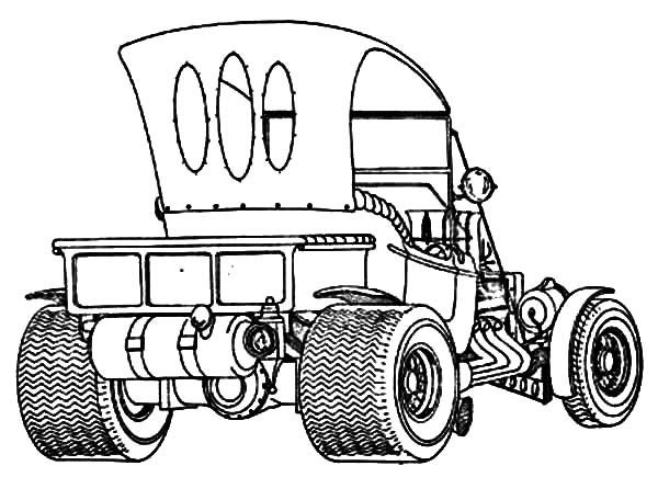 1936 chevy hot rod cars coloring pages