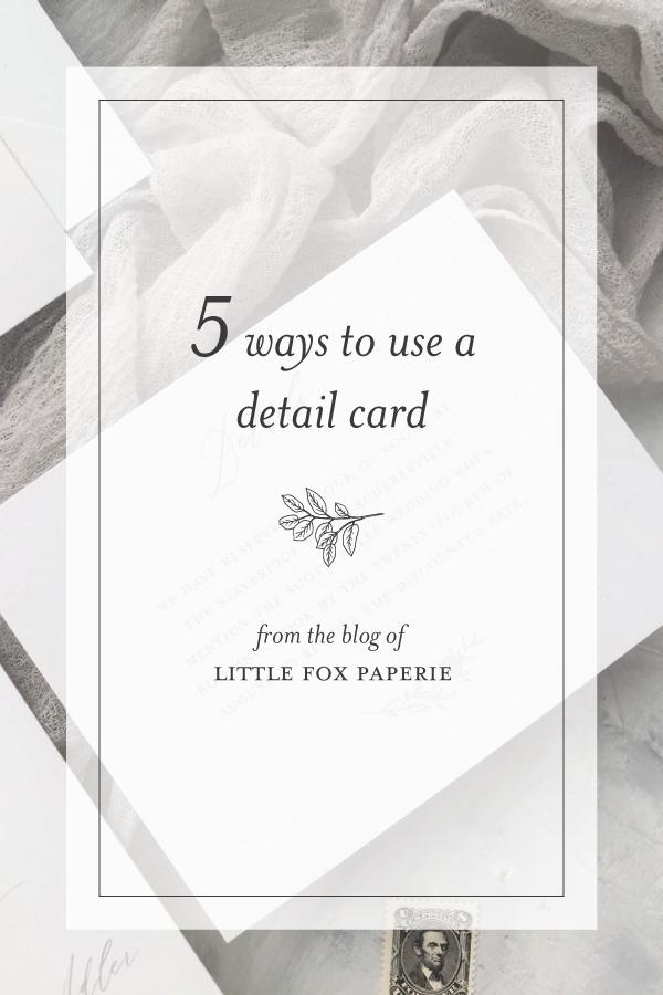 Detail Card Wording Wedding details card, Wedding