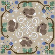 The Floss Box | Biscornu 552