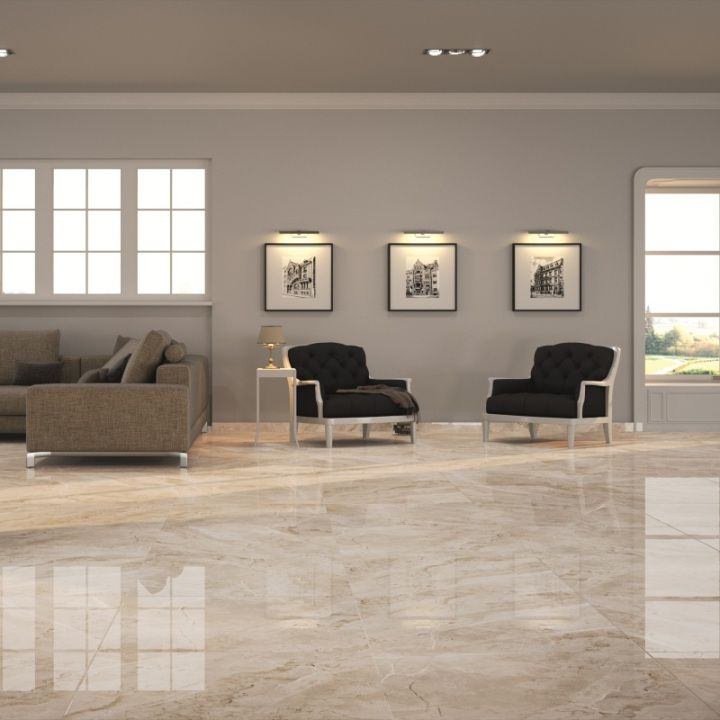 Nugarhe Large Floor Tiles Are Available In A Range Of Colours Including These Sand Tiles These Extra L House Flooring Living Room Tiles Tile Floor Living Room