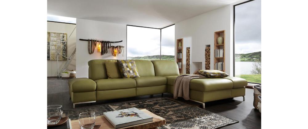 Himolla Wohnlandschaft In Grün Online Kaufen Couch Grün