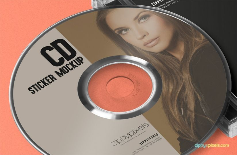 cd jewel case cd label mockup projects to try pinterest