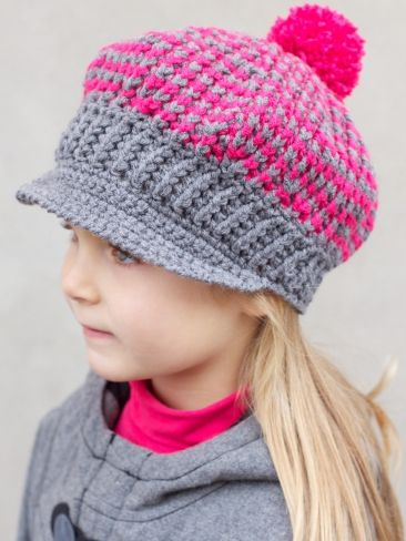 Newsboy Newsgirl Hat 22 Of 30 Days Of Hats Knitting Patterns