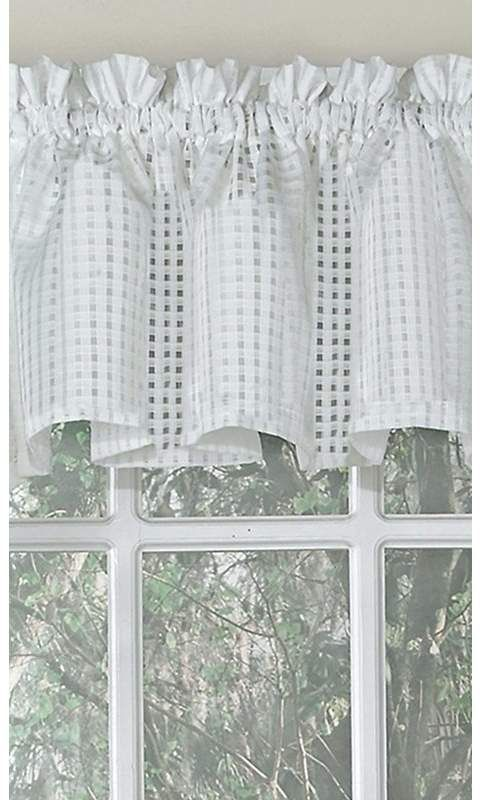 August Grove Horner Traditional Elegance 56 Window Valance ...