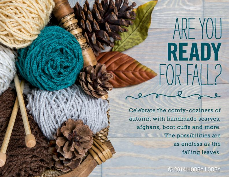 Our Crafter's Secret yarn is perfect for making those must