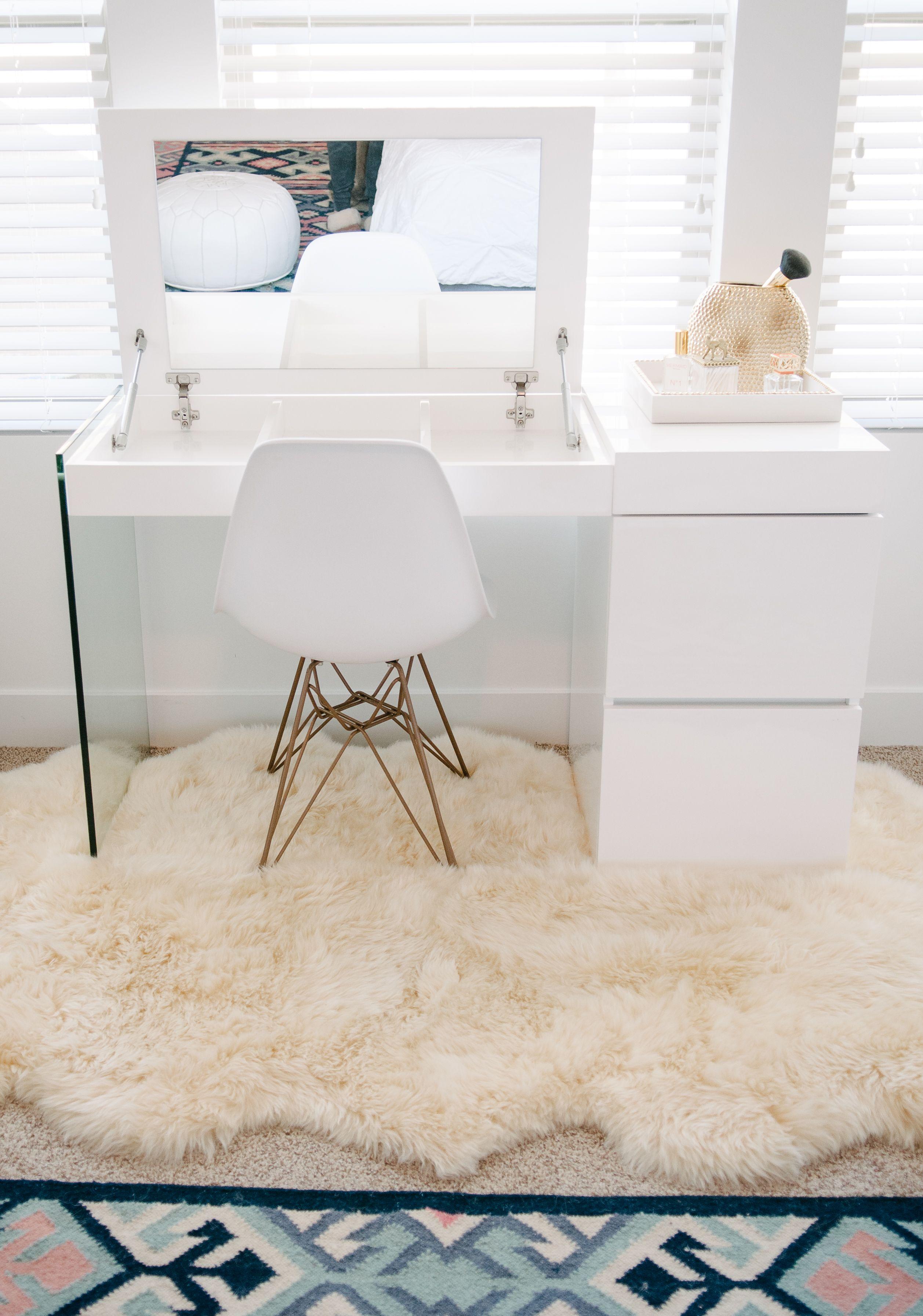 Pin by paula grehan on makeup room ideas pinterest vanities