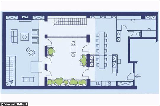 huit plans pour cr er un esprit loft lofts patios and house. Black Bedroom Furniture Sets. Home Design Ideas