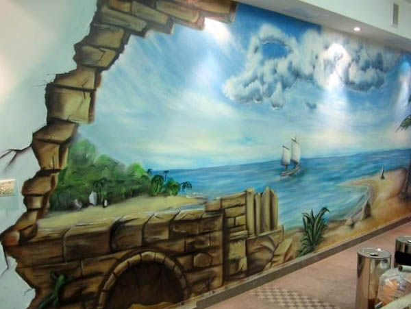 unique wall designs for painting - Google Search ...