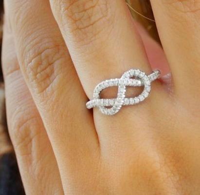 76759e040deab Tiffany Infinity Ring | Tiffany & Co. Melissa wants in gold | my ...