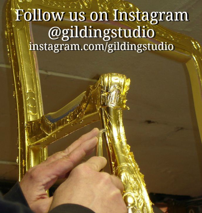 Pin by Charles Douglas Gilding Studio. on Gold Leaf Gilding Classes ...