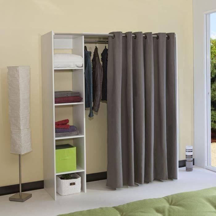 une penderie ferm e vous permettra de cacher votre d sordre penses y bien accessoires. Black Bedroom Furniture Sets. Home Design Ideas