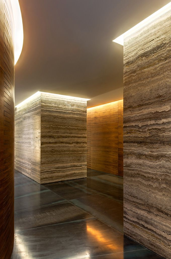 Walls don\'t often strike us as exciting, but in this office project ...