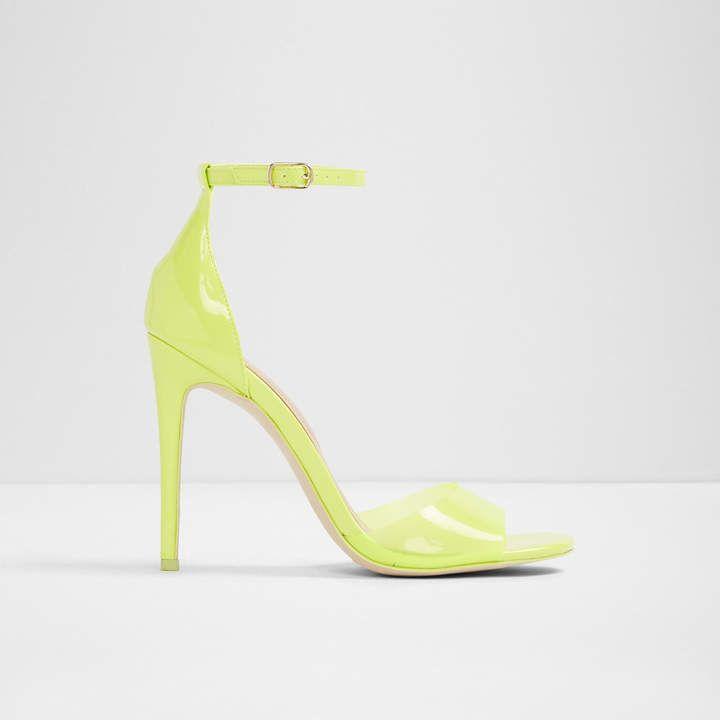 46c95091eeaf Ligoria Light Yellow Women s Heels