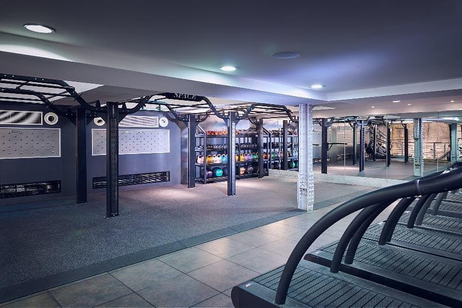 Third Space London Gym Lighting Areas Space