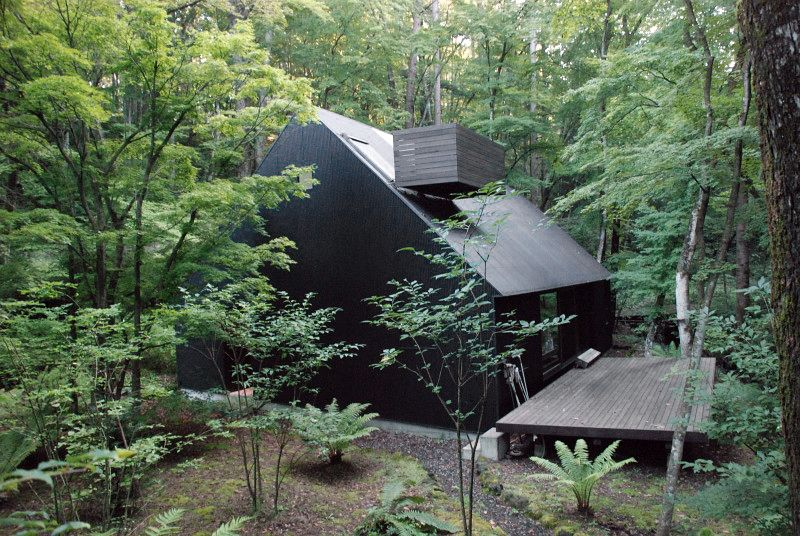 Go hasegawa house in the forrest karuizawa 2006 via 2 for Deep house 2006