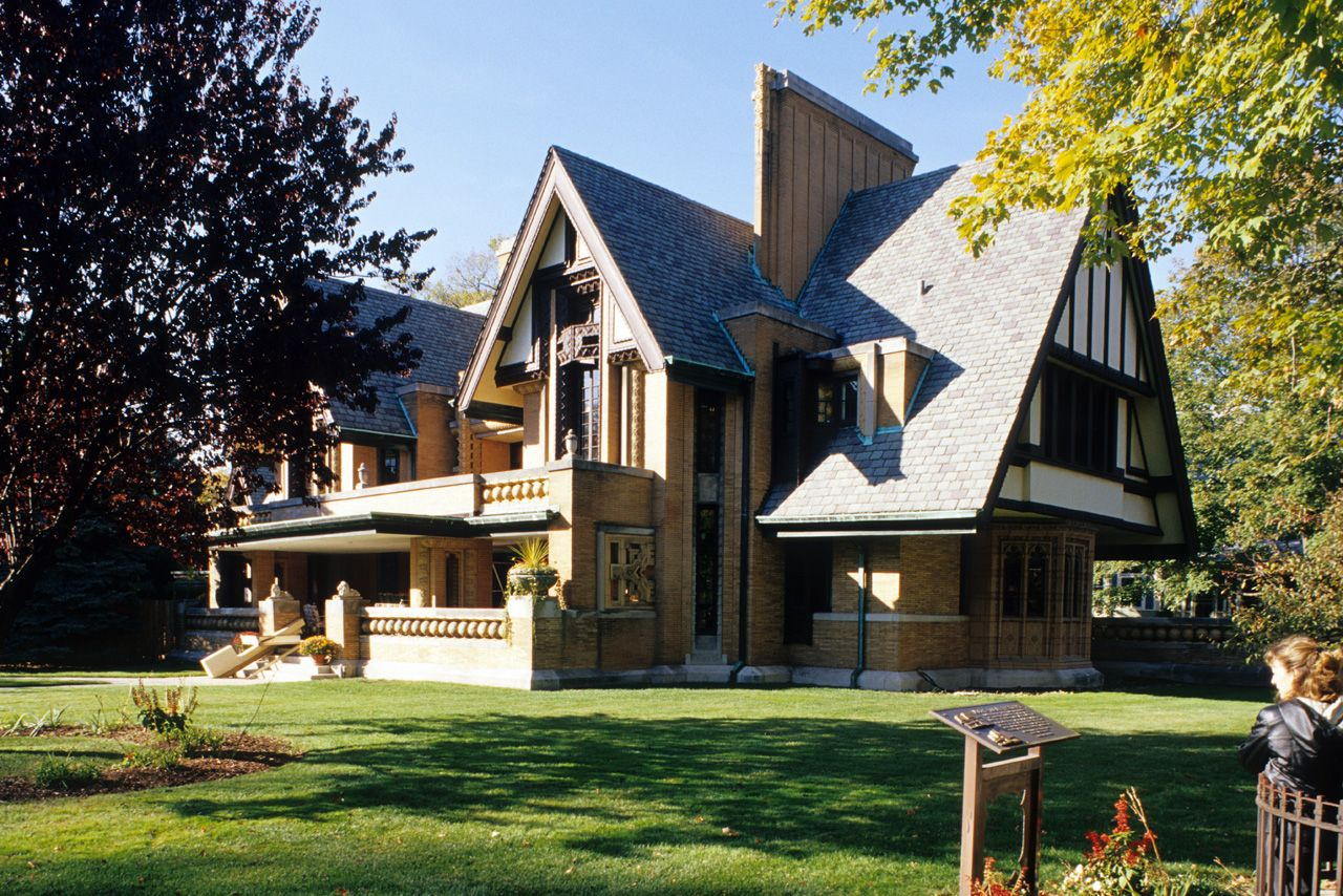 Frank Lloyd Wright Houses Moore House Frank Lloyd Wright House