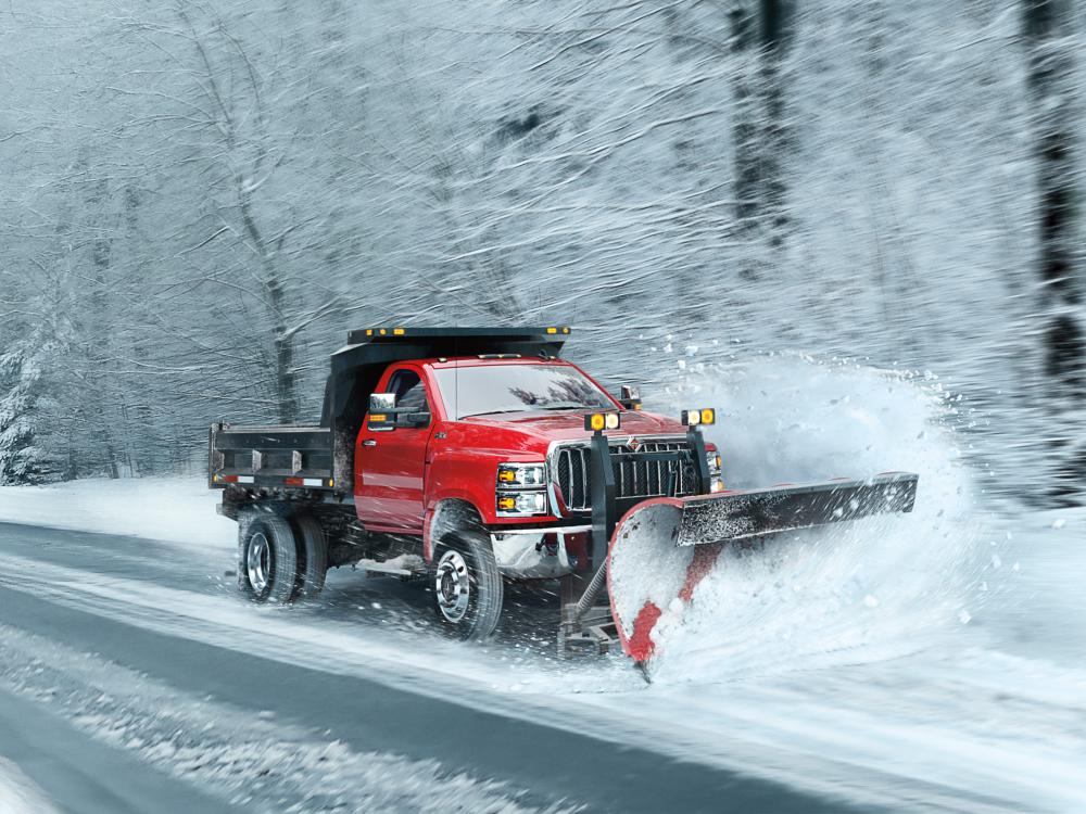 International unveils CV work trucks (With images) Work