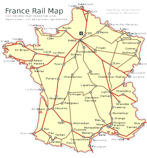 How To See France By Train France Spain And Italy - Portugal rail network map