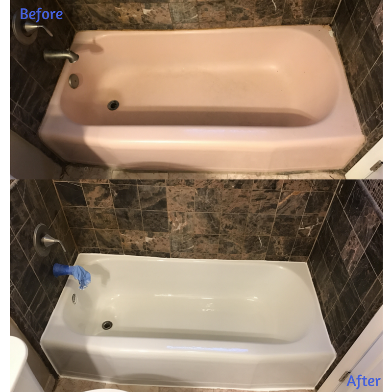 The Last Step In This Bathroom Remodeling Process Was The Tub Resurface,  And Does It