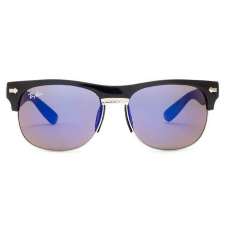 614cf408f6 Ray Ban Clubmaster Oversized Flash Lenses Black   This style is available  in a variety of colors