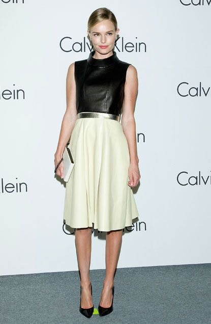 #KateBosworth looked classy and cool in #CalvinKlein at the brand's Infinite Loop exhibition in Korea.