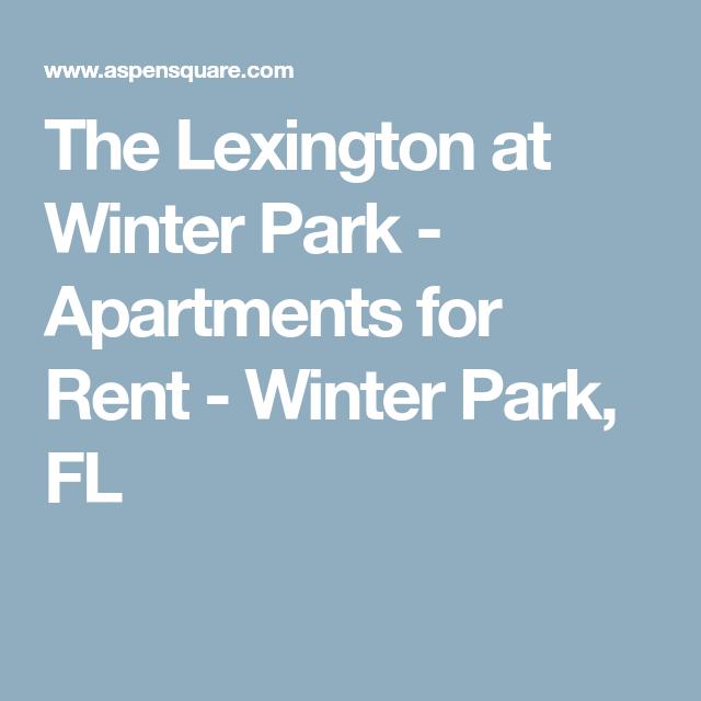 The Lexington At Winter Park