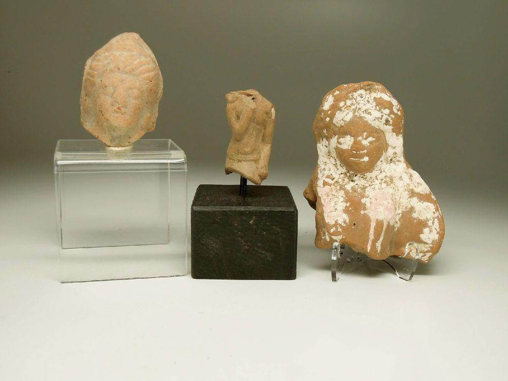 LOT OF 3 TERRACOTTAS FROM GRAECO-ROMAN EGYPT