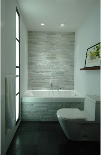 Bathtub With Interesting Tile Background With Lovely Lighting To Highlight Difference Between Gorgeous Bathroom Designs Small Bathroom Tiles Gorgeous Bathroom