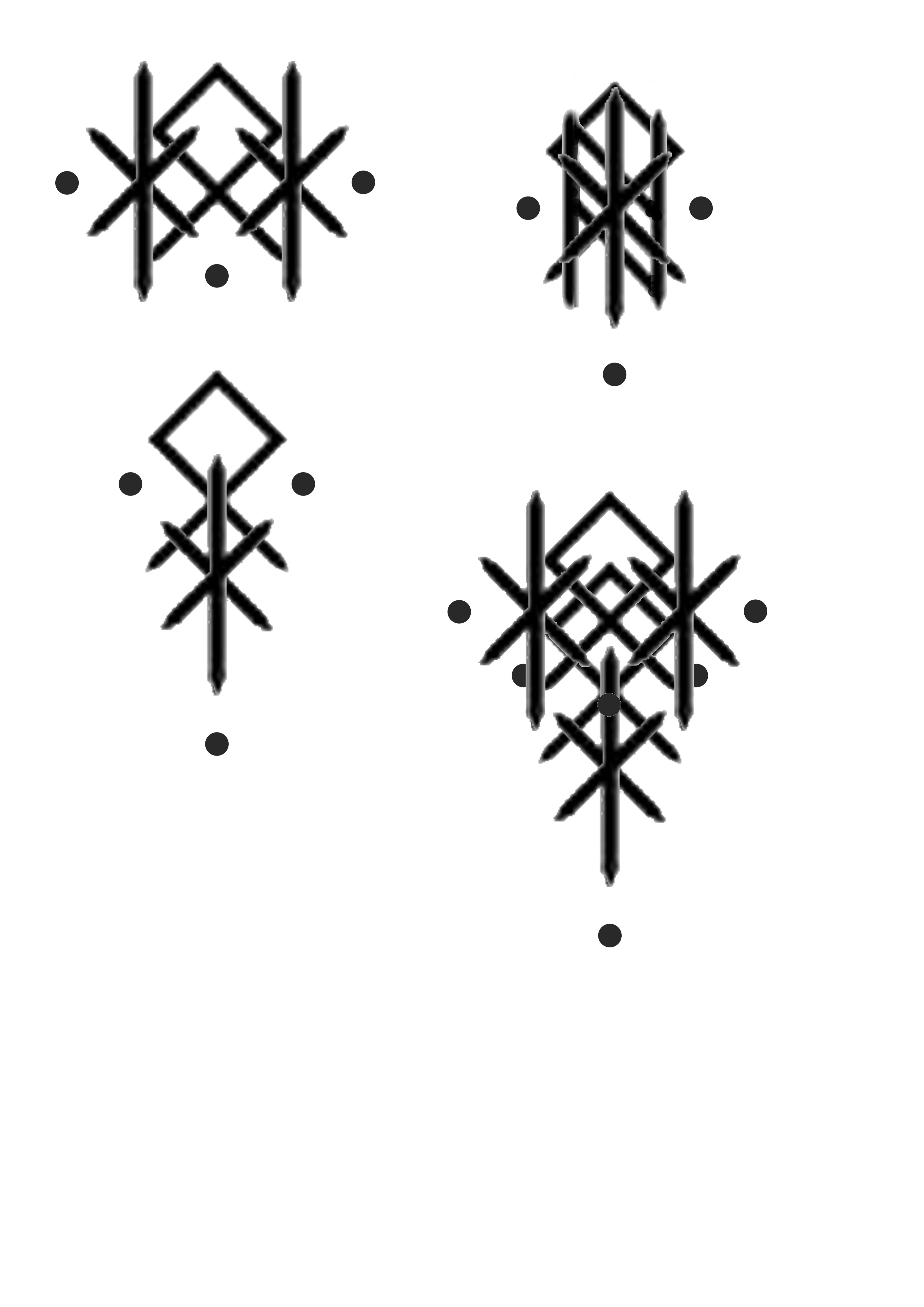 Bind runes for family, happy family Rune tattoo, Norse