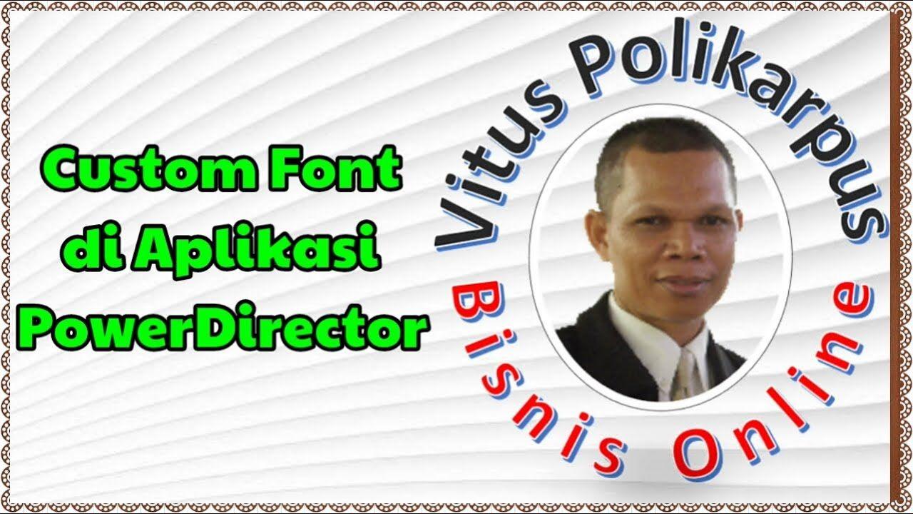 Cara Menambahkan Custom Font di Aplikasi Editing Video